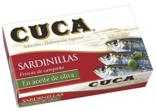 Sardinillas en aceite de oliva cuca...