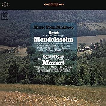 Mendelssohn: Octet in E-Flat for Strings - Mozart: Concertone for 2 Violins and Orchestra (Remastered)