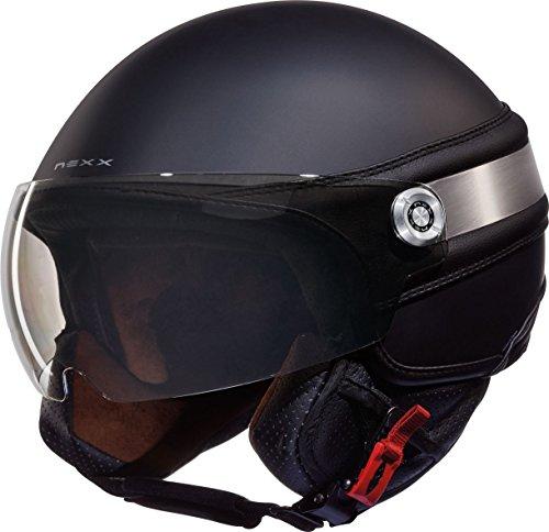 NEXX SX.60 ICE 2 Jethelm matt schwarz XL
