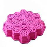 Moldes de Pastel/repostería/pan/hielo de panal de abeja moldes para hornear...