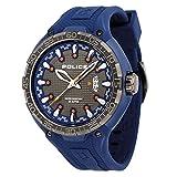 Police Reloj Análogo clásico para Hombre de Cuarzo con Correa en Plástico PL.13864JPBLU_61