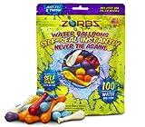 ZORBZ Self-Sealing Water Balloons 100 Count
