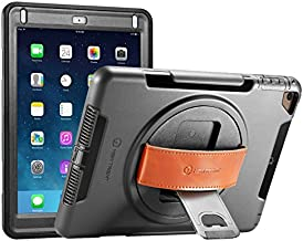 NEW TRENT iPad 9.7 Case for iPad 6th Generation Case 2018 & iPad Air Case & iPad Air2 case Heavy Duty iPad Case with Full-Body Rugged Protective Dual Layer & Built-in Screen Protector