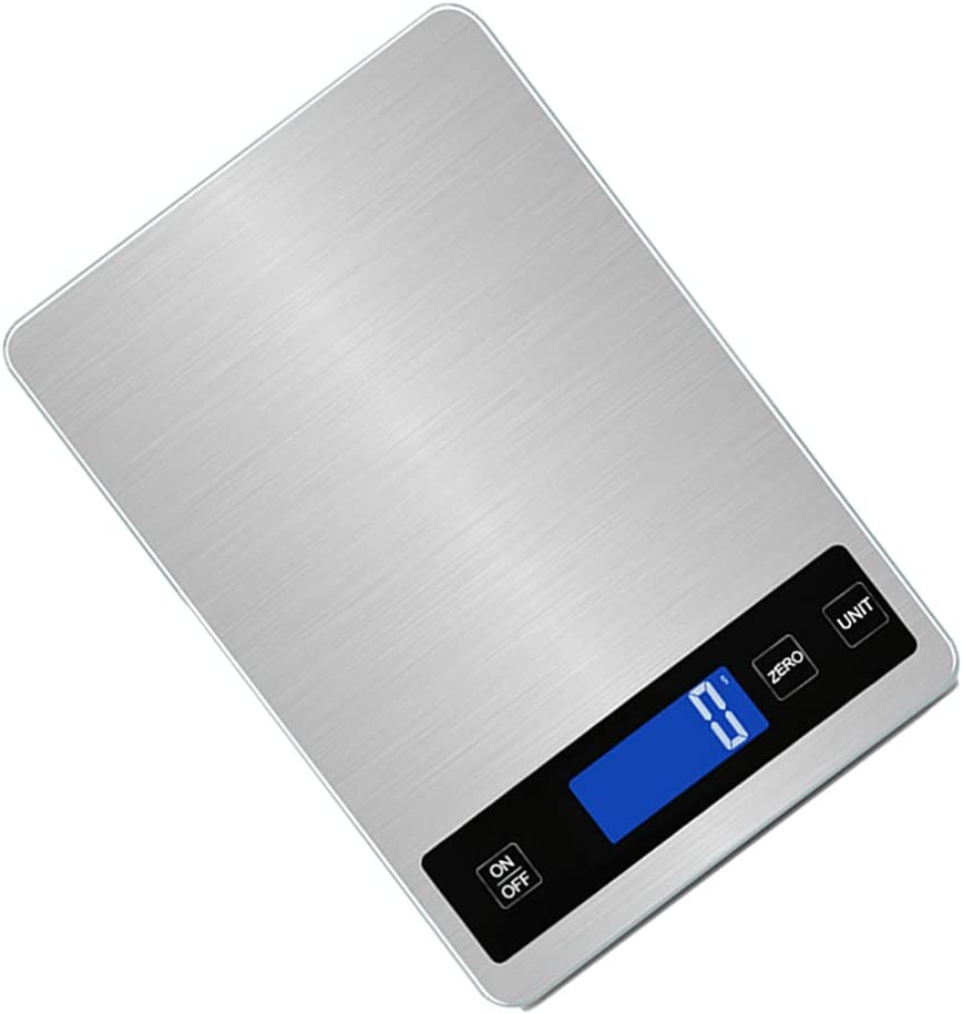 Ranking integrated 1st place Luxshiny Digital Max 47% OFF Kitchen Scale Electric Cooking Baking Fo Scales