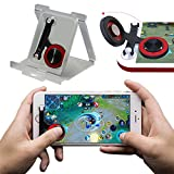 PRUGNA Mobile Joystick, Phone Game Rocker for PUBG/Fortnite/Knives Out/Rules of Survival for iPhone/Smart Phones, Touch Screen Joypad for Android/iOS (Rocker)