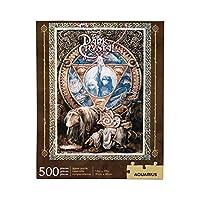 AQUARIUS Jim Henson's ダーククリスタルパズル (500ピースジグソーパズル) 公式ライセンス商品 ダーククリスタル商品 収集品 グレアフリー 精密フィット 14 x 19インチ