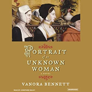 Portrait of an Unknown Woman audiobook cover art