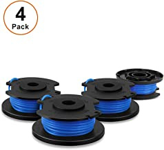V VONTOX Line String Trimmer Replacement Spool Suitable for Ryobi String Trimmer, 4 Pack for Replacement, 0.065 Inch