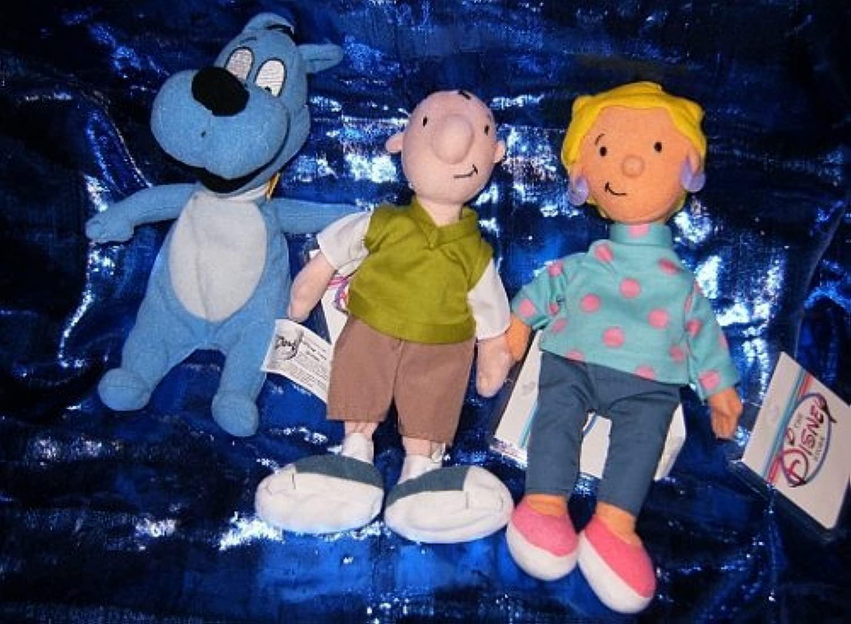 Disney's Doug e Friends 8 Beanie Set by Doug