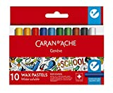 Caran D-Ache 3628729031 - Ceras pastel acuareable caran d'ache (10 uds.)