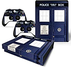 GoldenDeal Xbox One X Console and Wireless Controller Skin Set - Dr Time Travel - XboxOne X XOX Sticker Vinyl