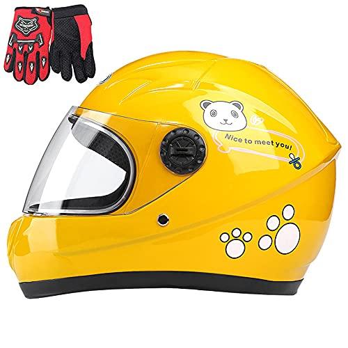 casco moto 8 anni Casco da moto per bambini