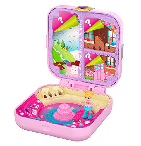 Polly Pocket Cofre Aventuras Dulces con Muñecas y Accesorios (Mattel GKV11) , color/modelo surtido