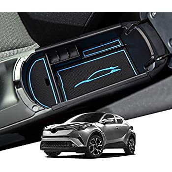 Toyota C-HR Accessories,Toyota C-HR Armrest Cover Compatible for Toyota C-hr Armrest Protector 2016-2020