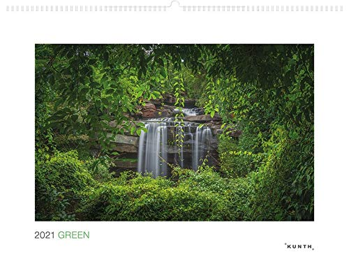 Green 2021: Wandkalender (KUNTH Wandkalender White Edition 60 x 45 cm)