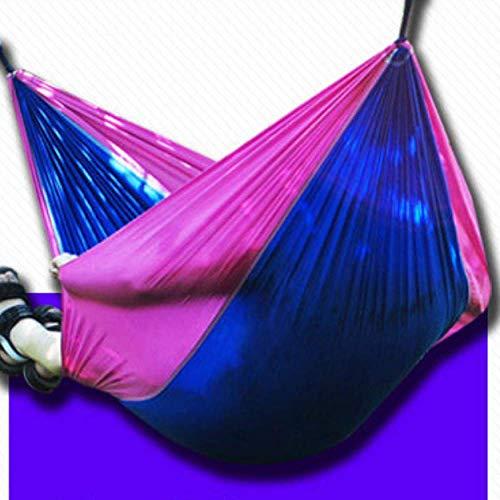 Hamac avec Moustiquaire, Hamac De Camping Portable, Voyage UltraléGer Coupe-Vent, Tissu De Parachute pour Hamac De Camping RéSistant Aux Moustiques