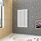 Famehours Paneelheizkörper Weiß 542 × 900 mm