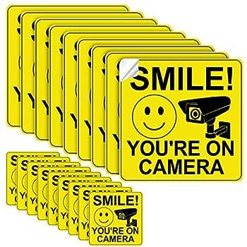 youre on camera sticker