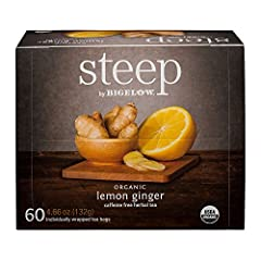 Net weight: 4.66 oz 60 tea bags per box Certified USDA Organic Caffeine free , Gluten free Non-GMO , Kosher