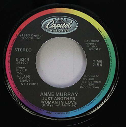 ANNE MURRAY 45 RPM JUST ANOTHER WOMAN IN LOVE / HEART SEALER