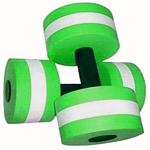 Best Review Of Davidamy's gift Water Aerobic Exercise Foam Dumbells Pool Resistance 1 Pair, Water Fi...