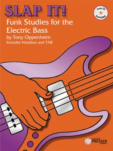 Slap It: Funk Studies for the Electric Bass - MP3 Audio Download (GUITARE BASSE)