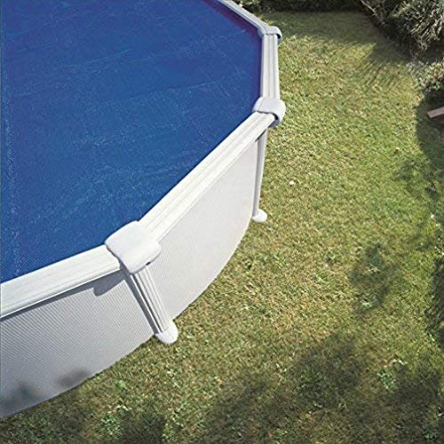 Gre 772999 - Cubierta de Verano Isotérmica para Piscina Redonda de 460 cm de Diámetro, Color Azul
