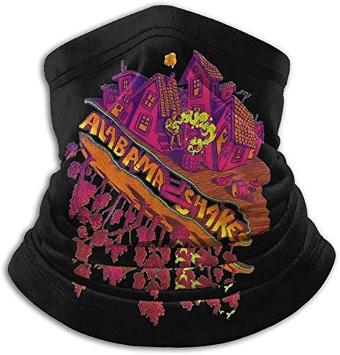 LAKILAN Pañuelo para La Cabeza Unisex Bama Shakes Bufanda De Cara Púrpura Bufanda Cómoda Bandana Bufanda De Cara Al Aire Libre Diadema Lavable para Motocicleta