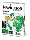 Papel navigator universal 1 paquete de 500 hojas. a4 80 gr