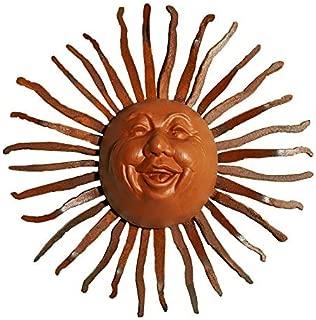 Little Happy Sun Face on Bent Ray