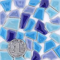 DIY 型 小型 セラミック モザイク フラグメント 不規則 ペレット スペシャル カラー フリー ストーン パズル バルク素材 200g AH+200602a