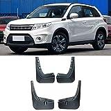 Shengyuan Car Styling Guardabarros guardias de barro de barro colgajos FIT for 2015-2018 Suzuki Vitara Escudo Fender 4pcs / set