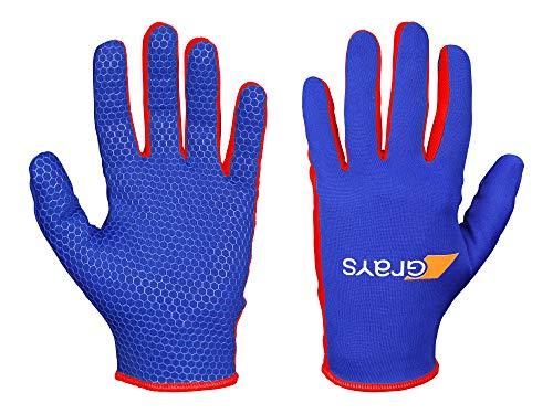 Skinful Hockey Handschoenen - Paar - Royal/Rood - maat 3XS