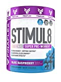 Stimul8, Original Super Pre-Workout with Vitamin C (35 Serving, Blue Raspberry)