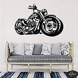 Harley Motorcycle Art Vinilo Decorativo Para Habitación Infantil Vinilos Decorativos Harley Davidson Livingroom Decoración Dormitorio Art Poster 42X62Cm