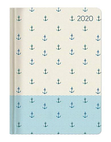 Ladytimer Anchor 2020 - Anker - Taschenkalender A6 (11 x 15) - Weekly - 192 Seiten - Notizbuch - Terminplaner