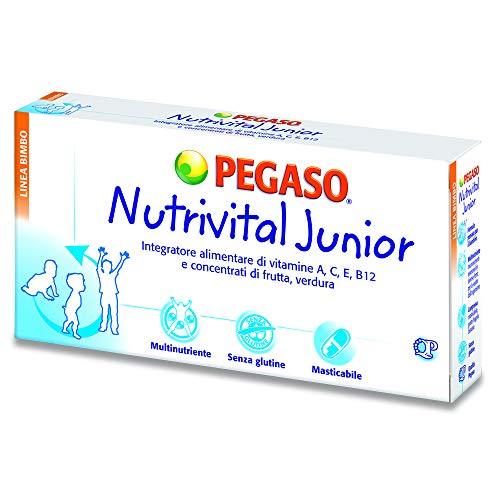 NUTRIVITAL JUNIOR 30 COMPRESSE - Complesso bilanciato di concentrati di frutta e verdura
