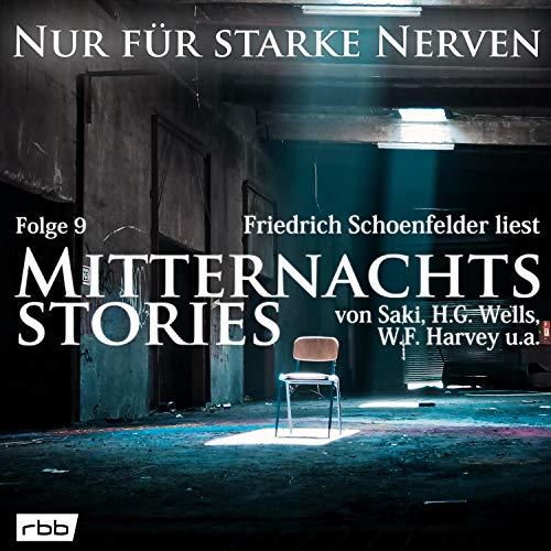 Mitternachtsstories von Saki, H.G. Wells, W.F. Harvey u.a. Titelbild