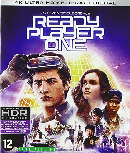 Ready player one 4k ultra hd [Blu-ray] [FR Import]