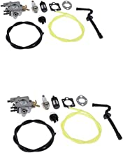 FLAMEER 2 stuks kettingzaag met afdichting reparatie carburateur carb accessoires voor Stihl MS192 MS192T grastrimmer