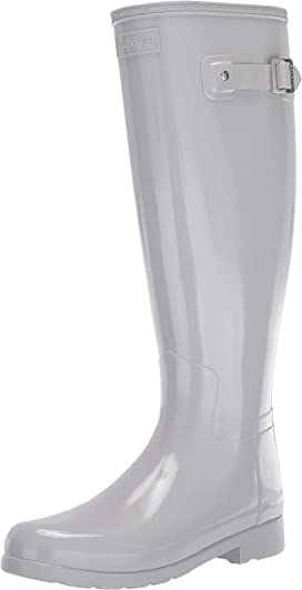 66f9eb73d5 Hunter Original Tall Wide Leg Rain Boots at Zappos.com