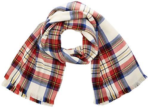Levi's Rabideau Plaid Wrap sjaal, beige (crème 20), eenheidsmaat