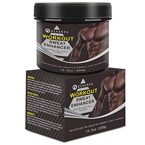 Hot Cream Cellulite Treatment for Weight Loss Slimming, Firming & Tightening - Workout Enhancer For Leg Body Waist Shaping - Fat Burning Cream for Men and Women