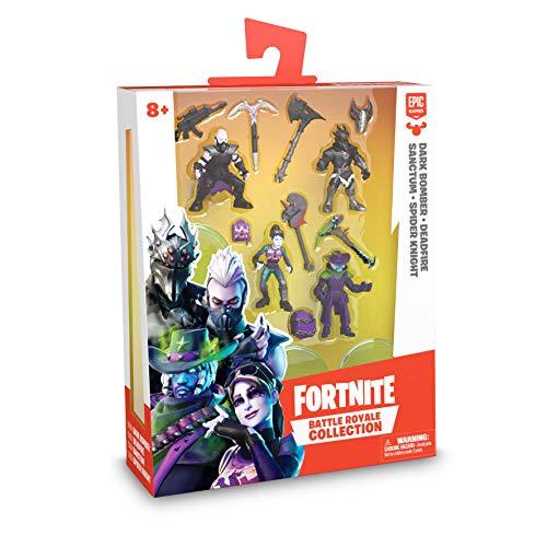 Fortnite. Pack de 4 Figuras de 7 cm articuladas, Serie 3, edición Limitada