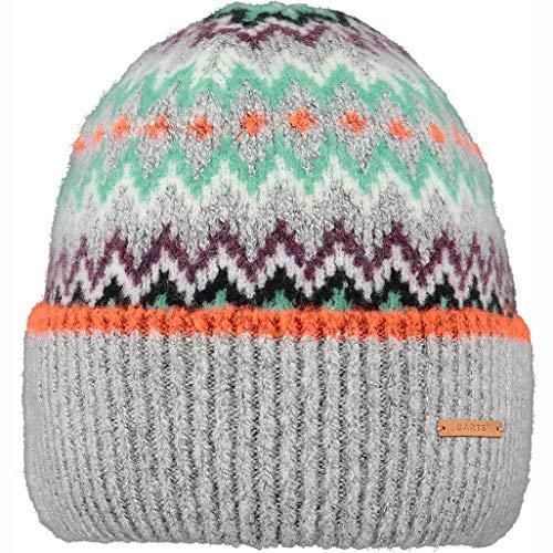 Barts W Cheslie Beanie Bunt-Grau, Damen Kopfbedeckung, Größe One Size - Farbe...