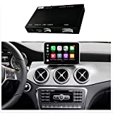 Road Top Retrofit Kit Decoder with Wireless CarPlay & Android Auto Mirror Link Navigation Functions for Mercedes Benz CLA Class CLA200 CLA250 CLA45 AMG GLA Class GLA200 GLA250 GLA45 AMG 2013-2015 Year