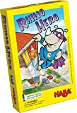 Product Image of the HABA Rhino Hero A Heroic Stacking Card Game for Ages 5 and Up - Triple Award...