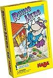 HABA 4789 Rhino Hero- Un Juego de apilamiento 3D para Edades 5+ versión en inglés (Made in Germany)
