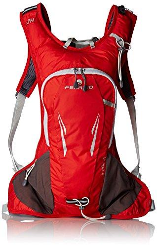 Ferrino X-Ride, Zaino da Running Unisex, Rosso, 10 Litri