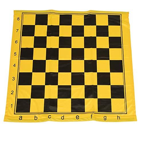 Schach Lehre Board Schachfiguren Set magnetische Unterrichtshilfe Tragbare Weiche Tuch Tafel Blackboard Paste Große Herren Damen Geschenk (Color : Chess Cloth)